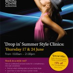 'Drop in' Summer Style Clinics at The Bentall Centre in Kingston this Thursday!