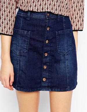 Espirit A-line denim skirt £39.00