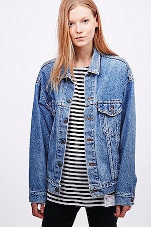 Urban Renewal Levi's Denim Jacket £50 at Urban Outfitters