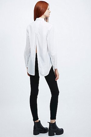 Sparkle and Fade Split back shirt £42 at urbanoutfitters.co.uk