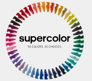 The Pharrell Williams Colour Chart